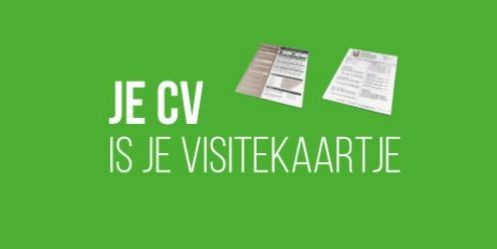 Upgrade yourself: Je cv is je visitekaartje