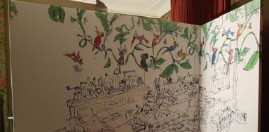 Mini-expo Quentin Blake